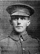 Lance Corporal McAnally, 6th Connaught Rangers, buried Aughnahoy