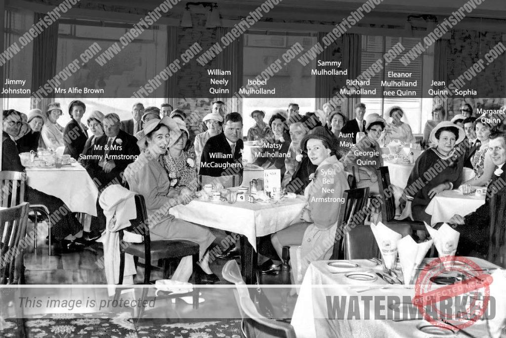 carrig na cule portstewart june 1961 names