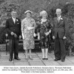 William Neely Quinn, Georgina Quinn of Carrydarragh, Moneymore, June 1961