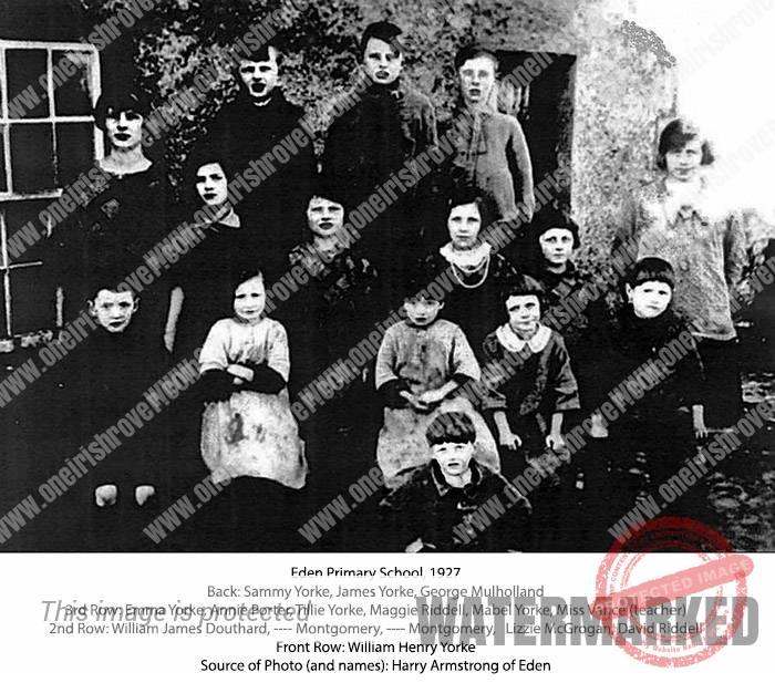 Eden School, Portglenone, Ireland, 1927