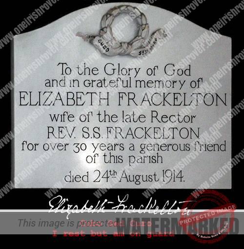Innisrush Church Elizabeth Frackelton Frackleton