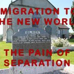 Emigration - One Family leaves County Derry for America