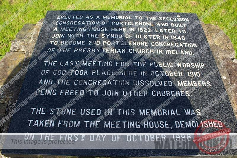 Second Portglenone Church - Old Cemetery, Townhill Road