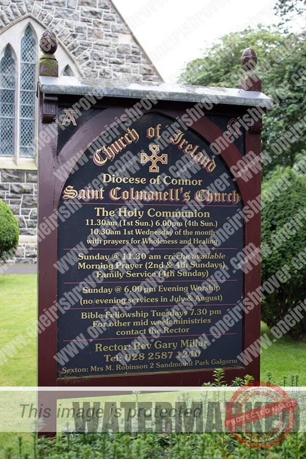 Saint Colmanell's Church of Ireland Ahoghill