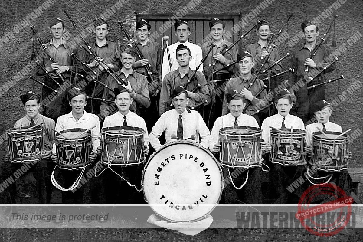 Tirgarvil Ancient Order of Hibernian Band