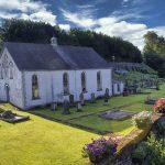 Cullybackey Old Methodist Church and graveyard