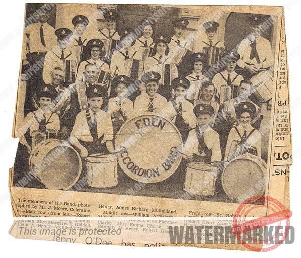 eden band kilrea newspaper