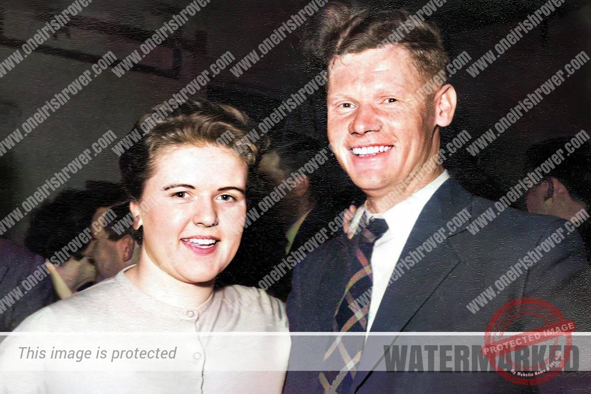 Richard Mulholland and Margaret McMaster orange hall