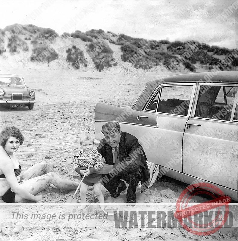 1966 Alfie Brown north coast beach Ireland